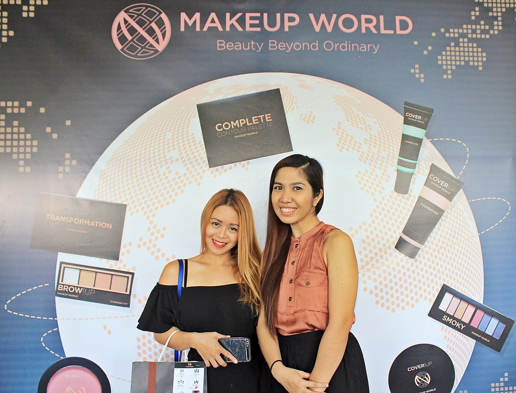 AyeshaHeart at MakeUpWorldPH