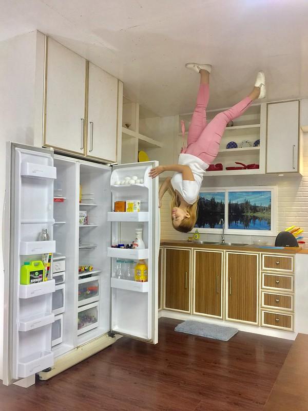 Upside Down Museum Kitchen