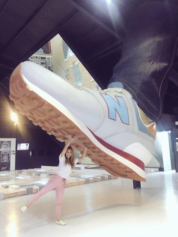 Upside Down Museum Giant Sneaker