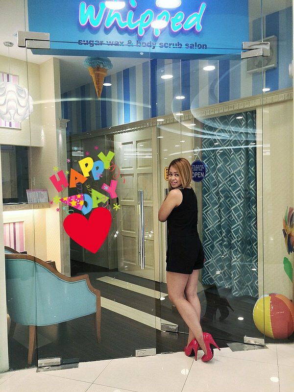 Ayesha Heart at Whipped Waxing Salon