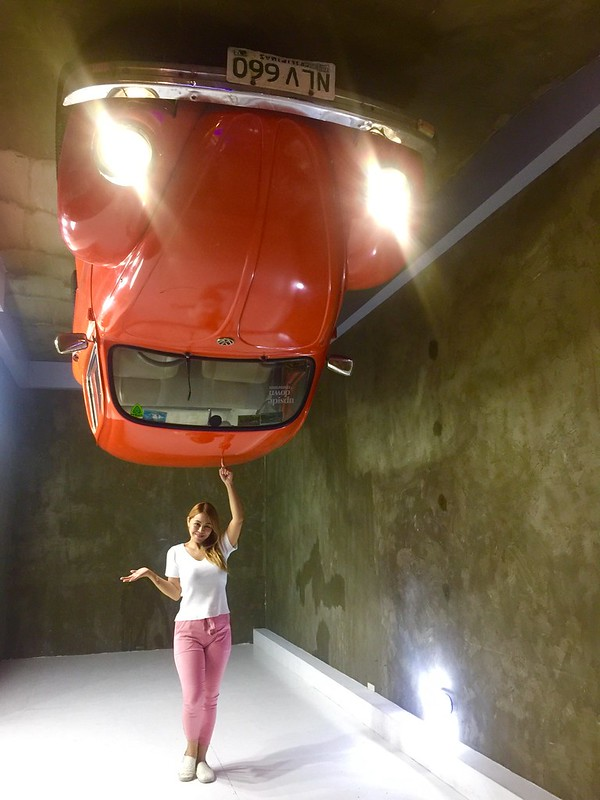 Upside Down Museum Inverted Car