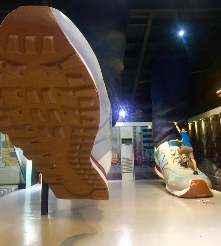 Upside Down Museum Giant Sneaker
