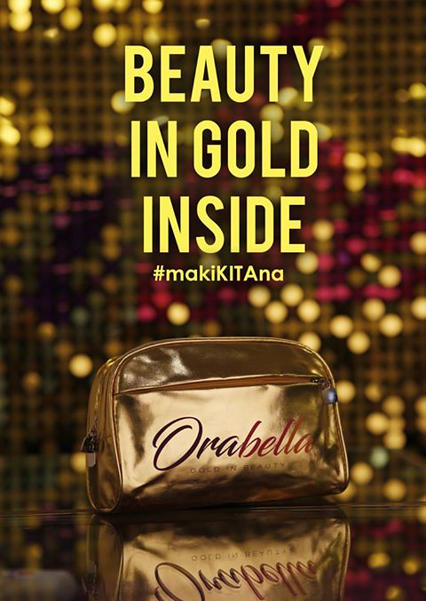Orabella Beauty in Gold Inside