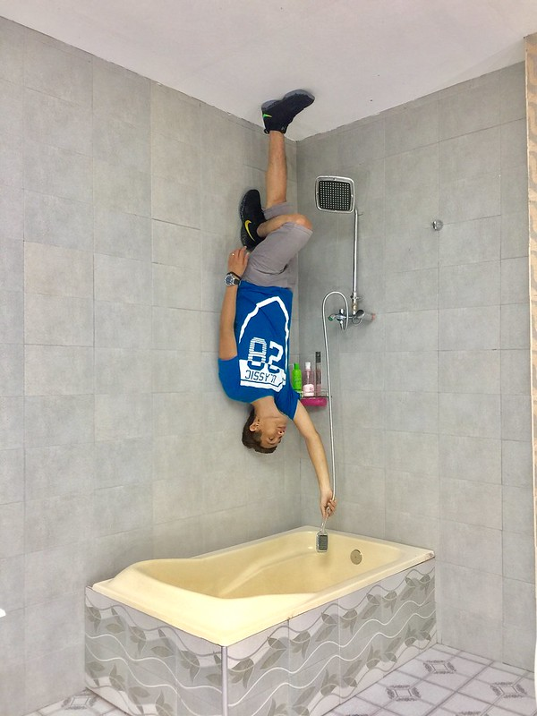 Upside Down Museum Bathroom