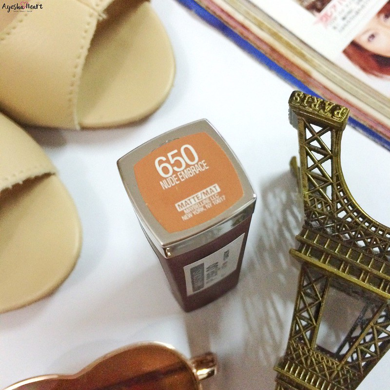 Maybelline Nude Embrace 650