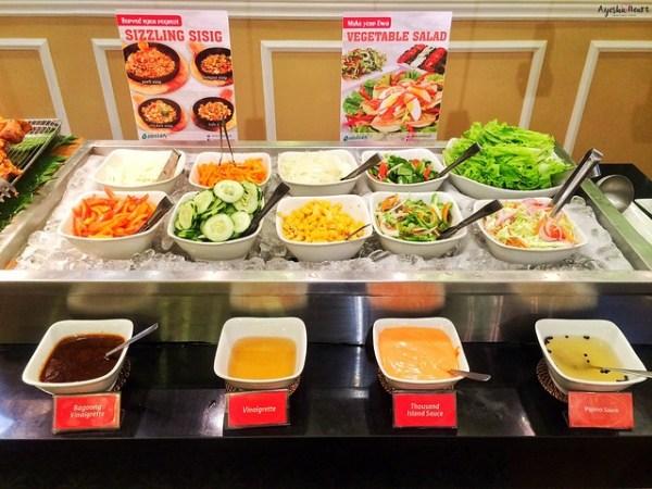 Cabalen Salad and Vegetable station