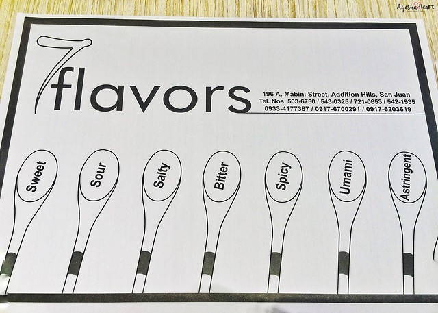 7 flavors: