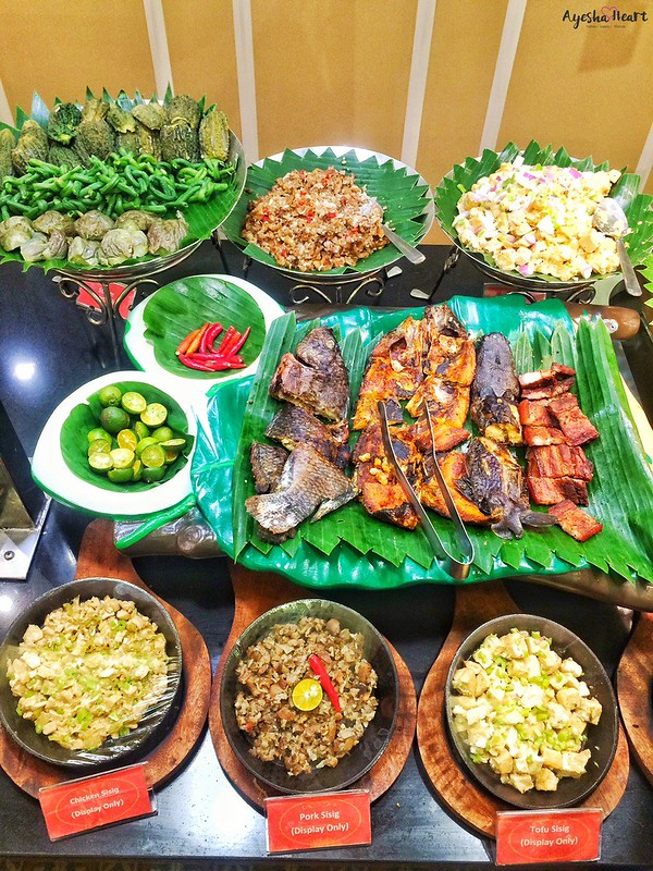 Cabalen Grilled and Sizzling Sisig station