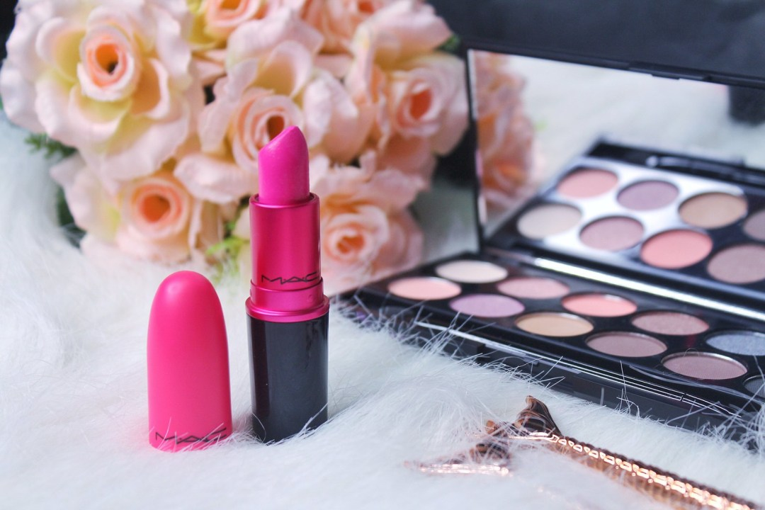 MAC Candy Yum Yum Lipstick Review Ayesha Heart