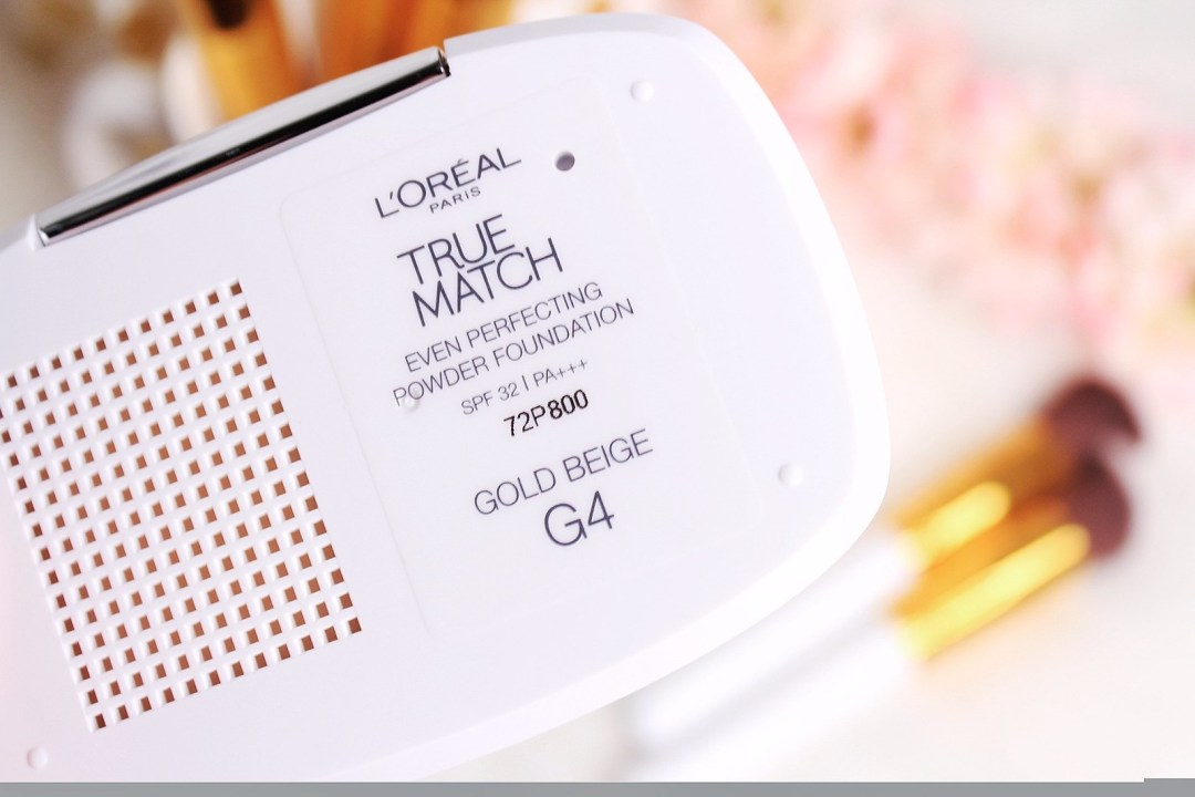 L'oreal True Match Even PerfectingPowerFoundation in G4 Gold Beige