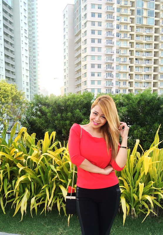 Red and Black OOTD