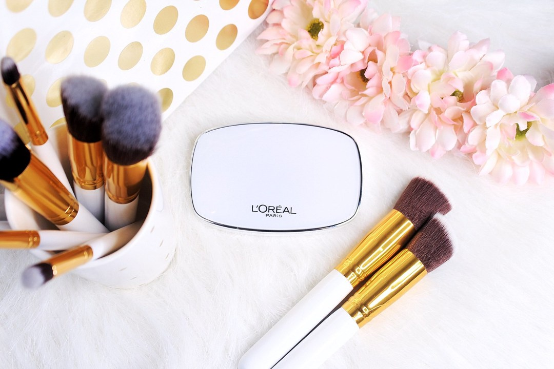 NEW L'oreal True Match Even Perfecting Powder Foundation Review | AyeshaHeart.com