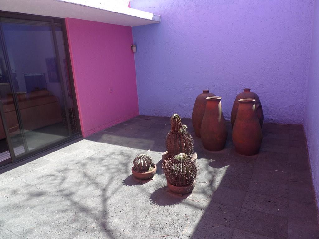 Luis Barragans Casa Gilardi  patio  This photo is