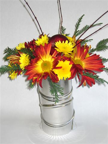 Contemporary Floral Arrangement  For more ideas visit www  Flickr