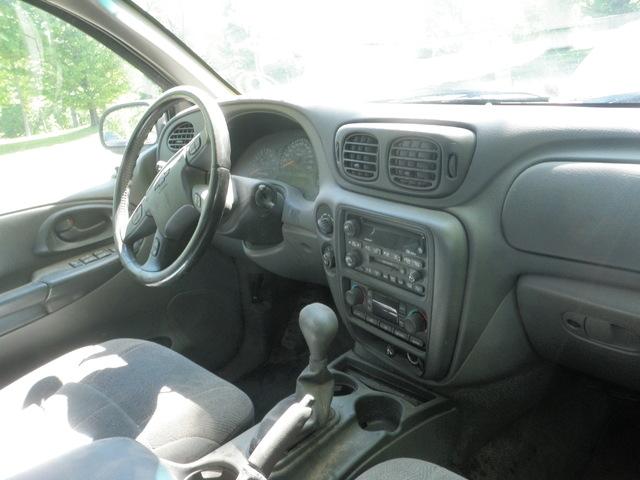 02 Chevrolet Trailblazer Stock 0184P10  2002 Chevy