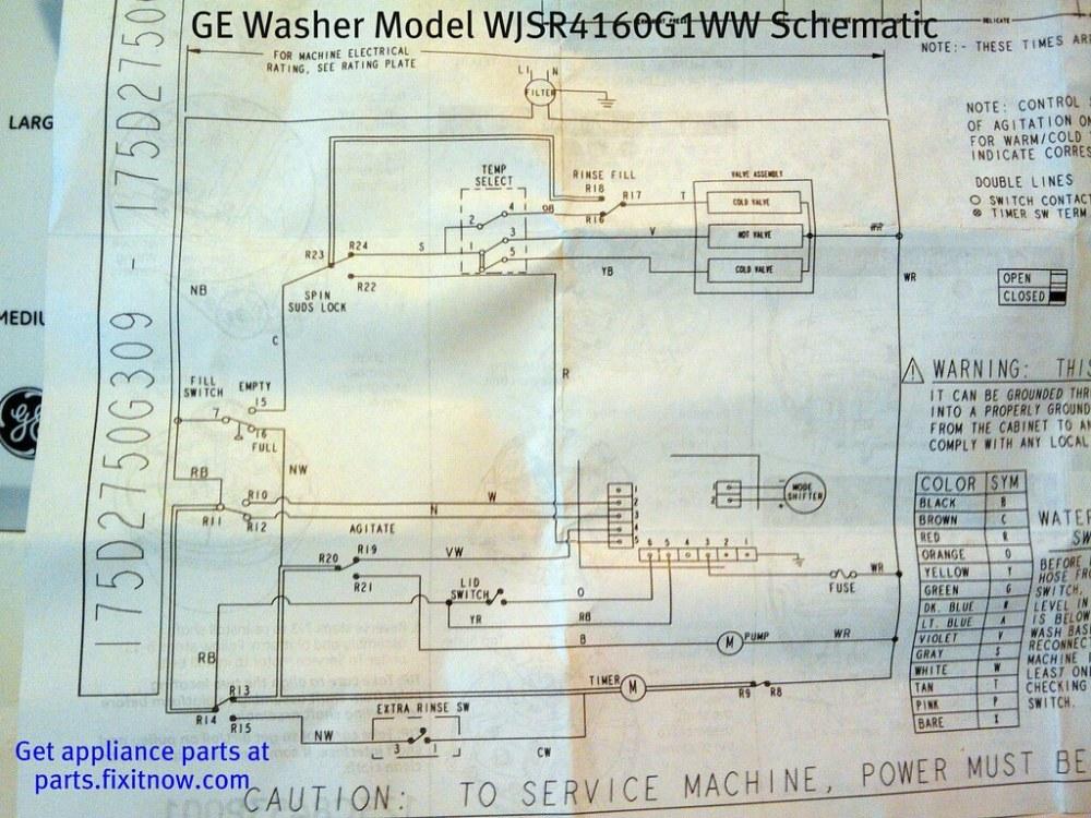 medium resolution of ge washer model wjsr4160g1ww schematic by zenzoidman