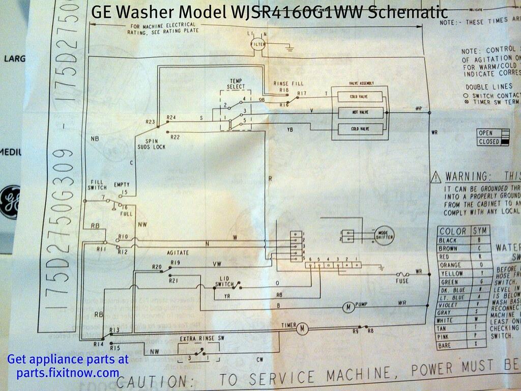 hight resolution of ge washer model wjsr4160g1ww schematic by zenzoidman