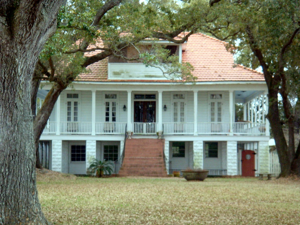 Plaquemines Parish22  Promised Land  Leander Perez House   Flickr