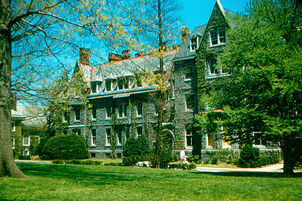 Haverford College  Barclay Hall 1958  Barclay Hall was