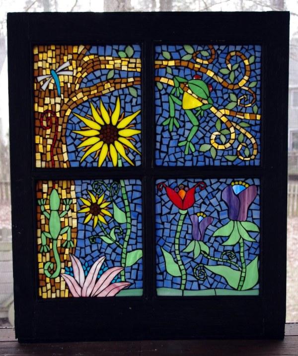 Rainforest Mosaic Window Latest Janu