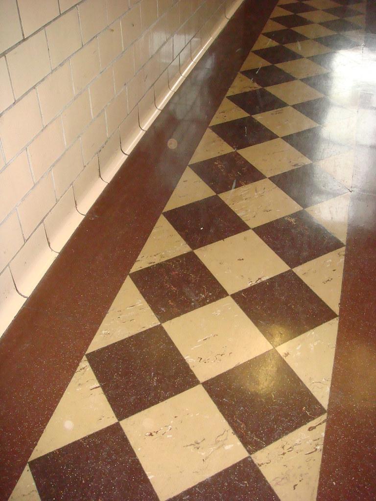 Vintage Retro Asbestos Floor Tile  Vintage retro 9x 9