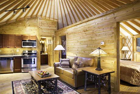 The Modernized Yurt in Shenandoah Crossing  Unobtrusive