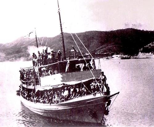 April 12 1942 HMAS LAURABADA arrives in Port Moresby aft  Flickr