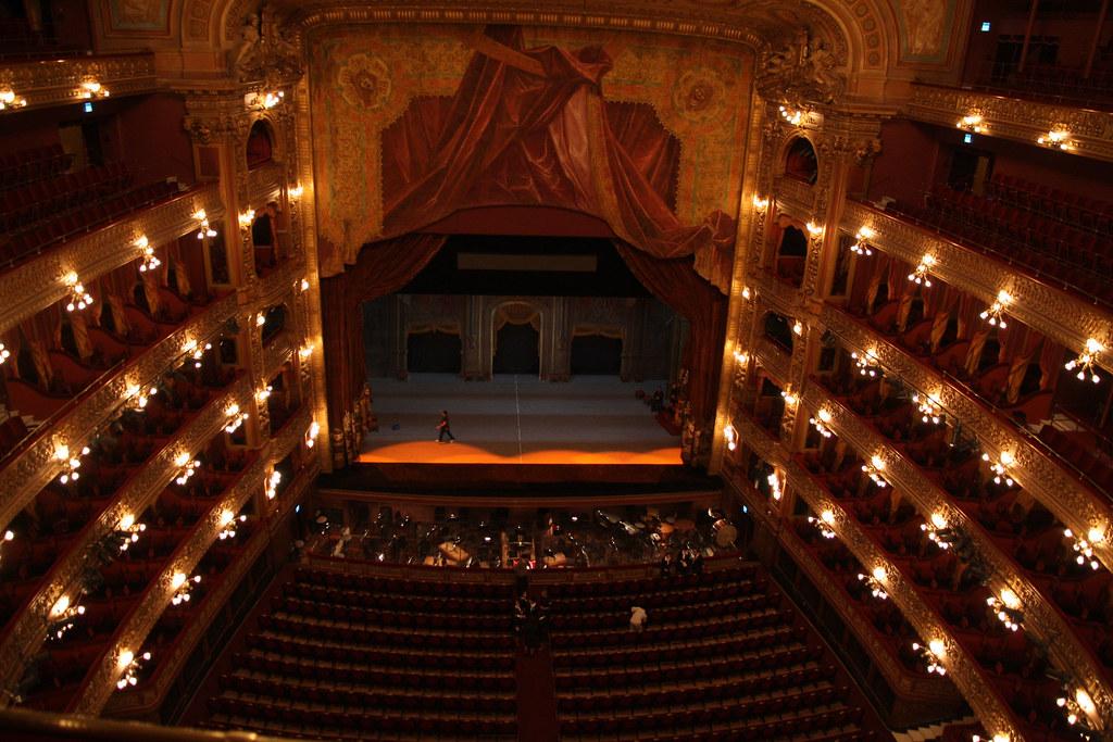 100524 La Sala Principal del Teatro Coln vista desde el