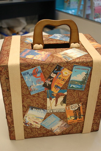 Full View Of Travel Gift Card Box The Luggage Handle