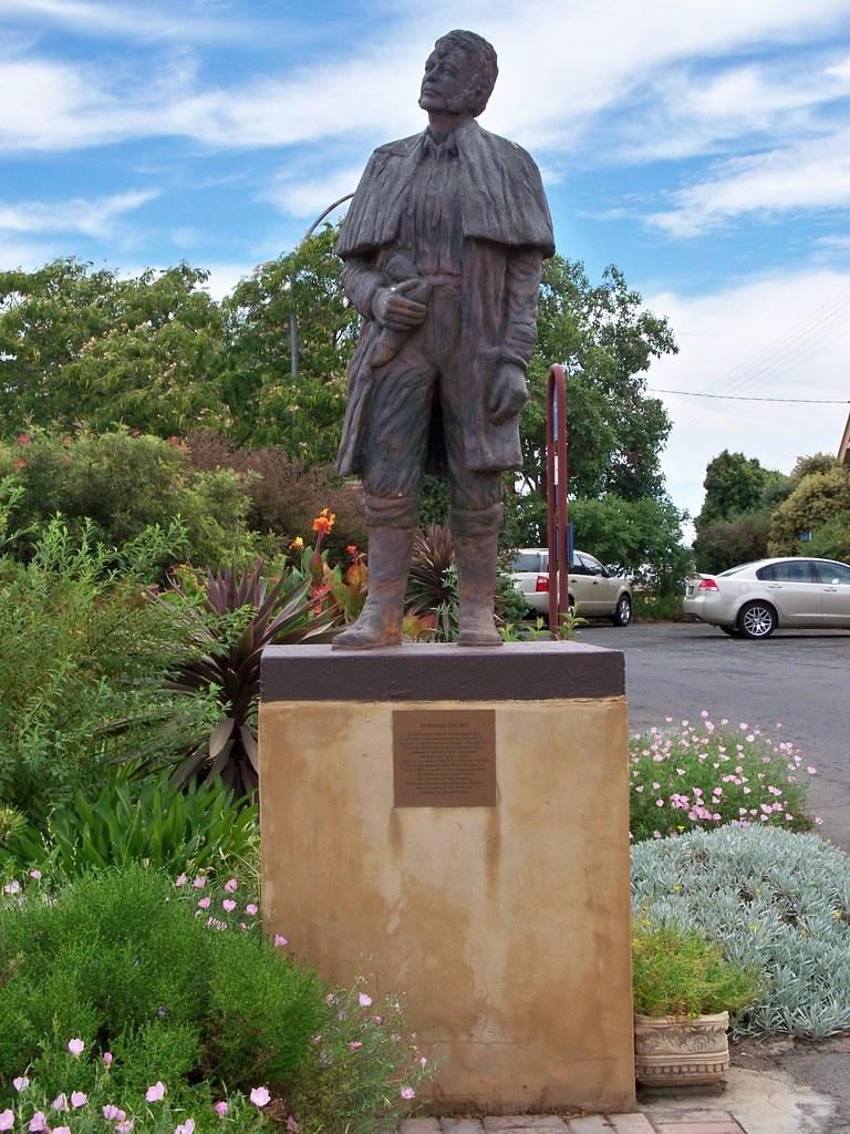 Ben Hall Statue Forbes Railway Station Wilderness Kev