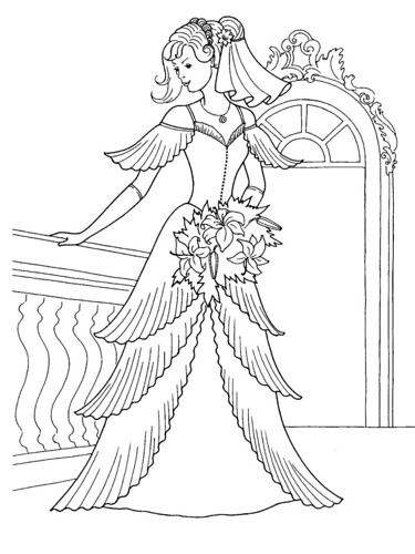 Katie Coloring Page