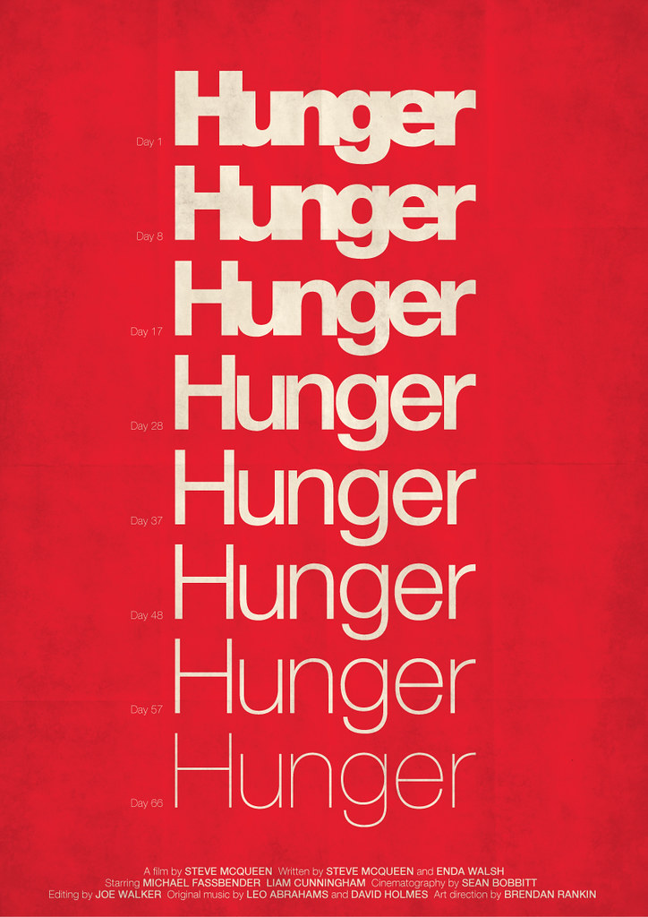 Hunger My Custom Movie Poster And Tribute To One Of My