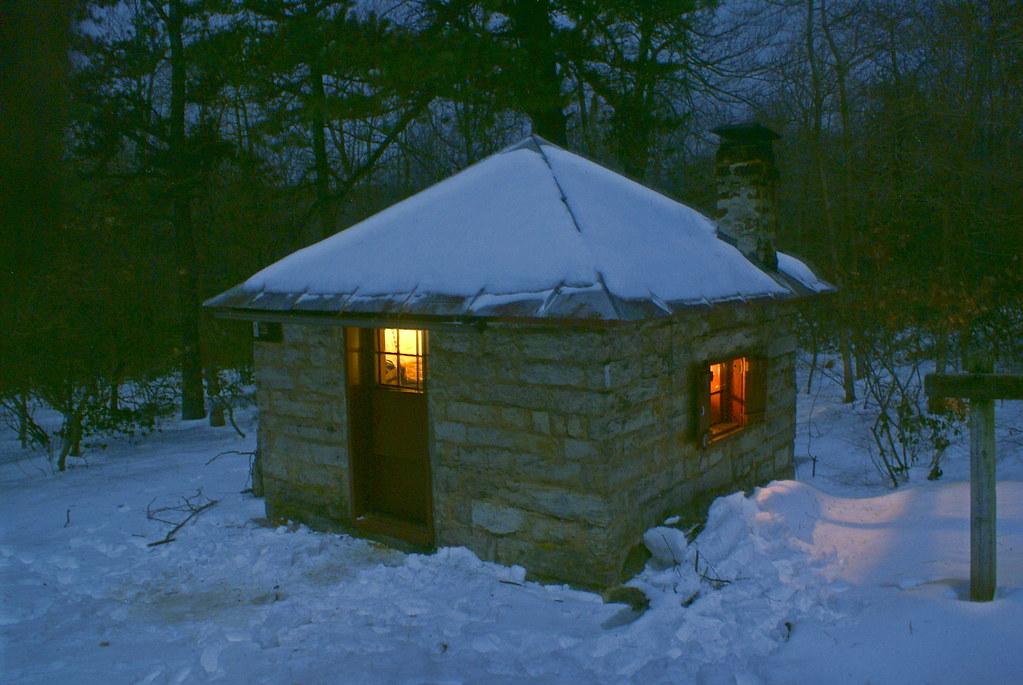 Sugar Knob Cabin in Moonlight  Great North Mountain Va  W  Flickr