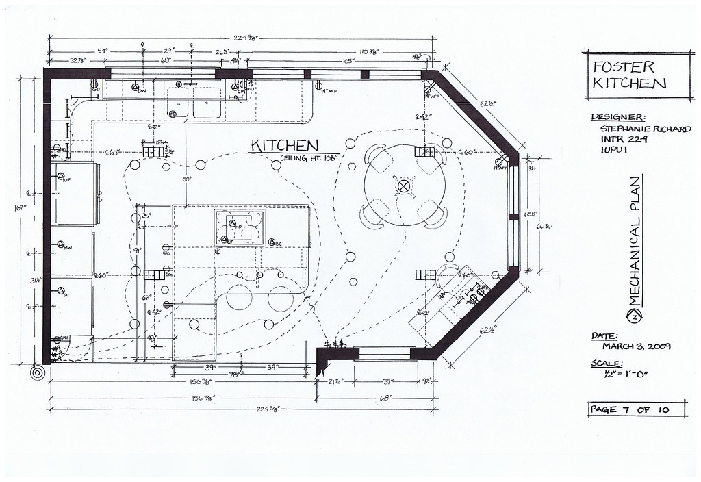 Foster Kitchen Design-Mechanical Plan