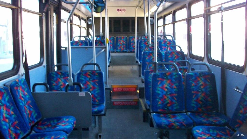 St Cloud Metro Bus 616 Interior  Built in 2002