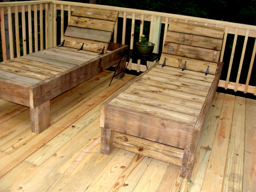 wooden lounge chair plans wood lawn chaise lounges my husband and i made this from scrap