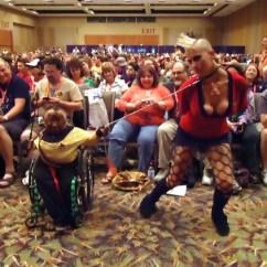 Wheelchair Jobs Graco Swing Chair Youtube Star Trek Bondage | Dani Danger Is The Red Shirt, And Gimp D… Flickr