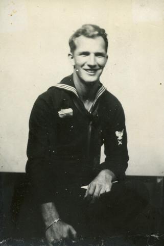 1940s world war 2 handsome sailor man navy military  Flickr