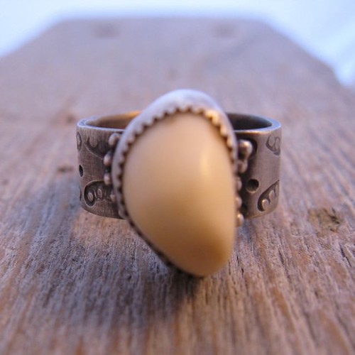 Elk Ivory Ring  AKA ELK TOOTH This is my first prodigy