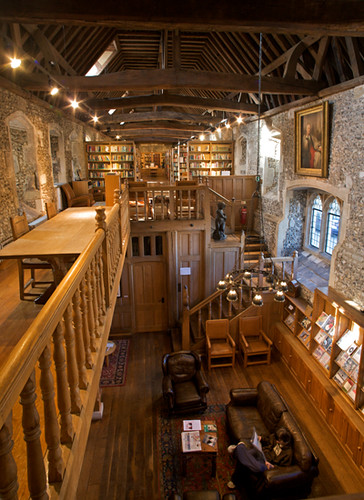 Winchester College Brewery Library Built In The 14th