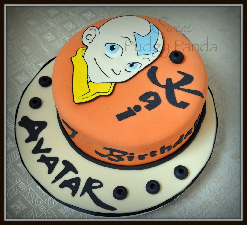 Avatar The Last Airbender Cake This Cake Is For My Son's