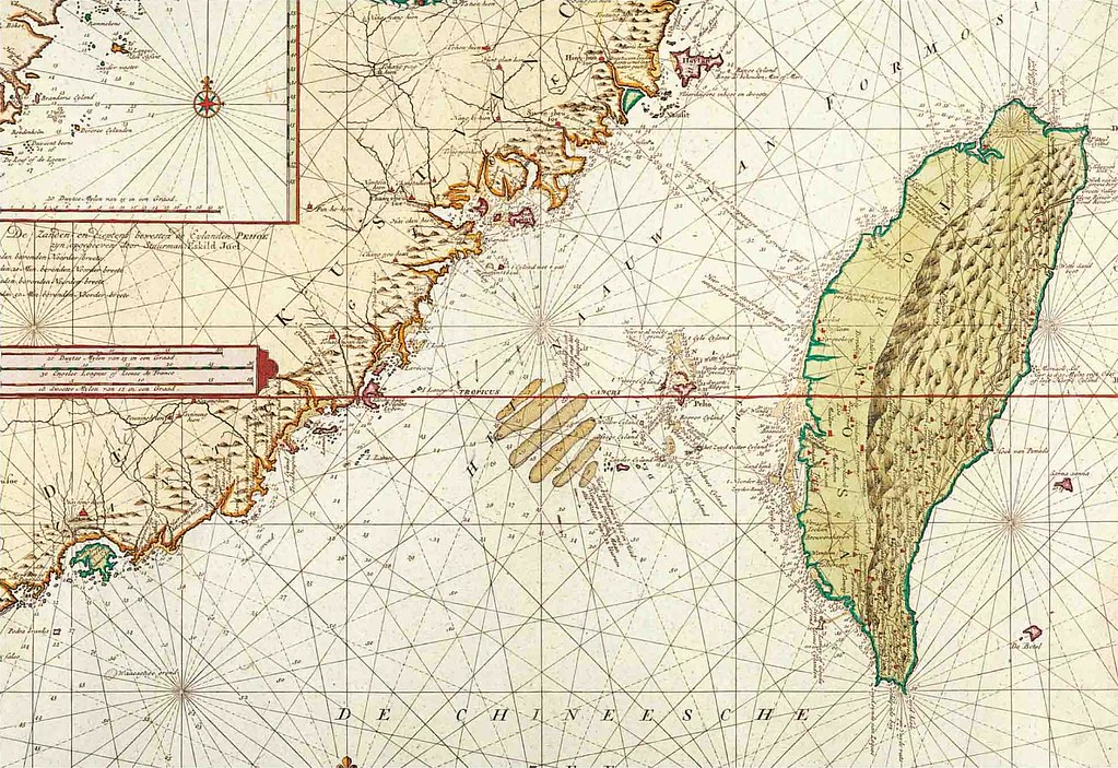 1728年中國沿海地區地圖 | 1576. 1728 年臺灣古地圖之臺南古地圖 | hycheng2 | Flickr