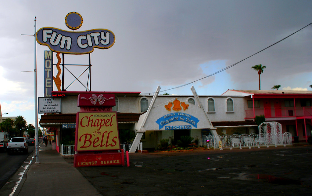 Fun City & Chapel Of Bells Las Vegas The Area Around