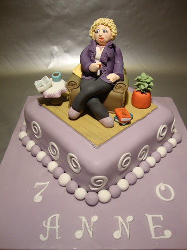 70th Birthday Cakes Women