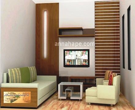 Desain Interior Ruang Keluarga Yang Sempit