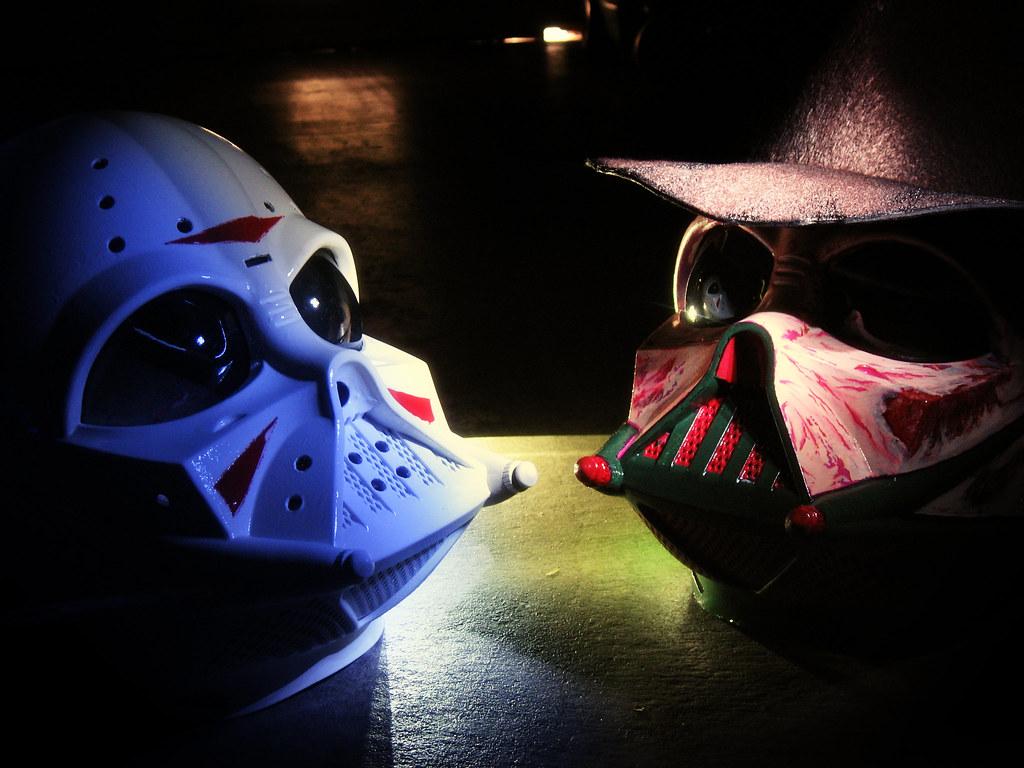 Freddy vs Jason vs Darth Vader  custom Vader mask as Freddy  Flickr
