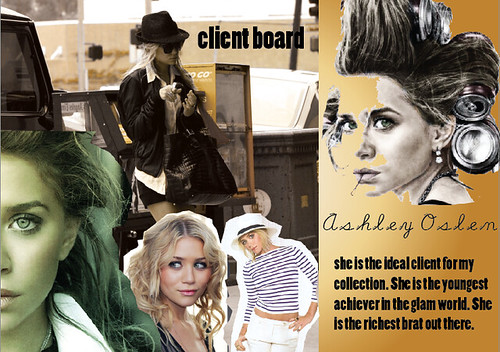 Client Board For A Womans Fashion Trend Document Become