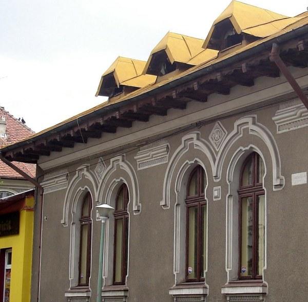 Bucarest - Fentres Faades Strada Caragea Voda