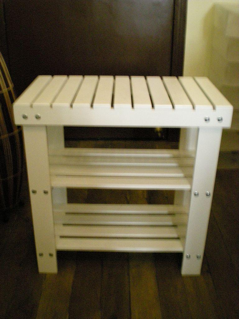Small White Storage Cabinet