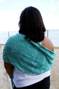 travelling woman shawl 1.3 | hand knit shawlette/scarf in ...